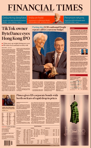 Financial Times Europe – 29 October 2019
