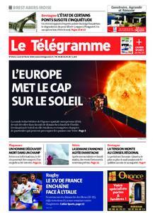 Le Télégramme Brest Abers Iroise – 10 février 2020