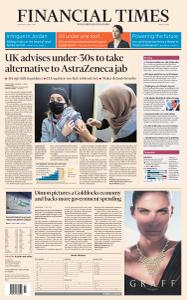 Financial Times Middle East - April 8, 2021