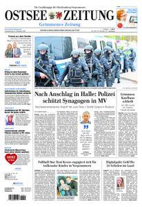 Ostsee Zeitung Grimmener Zeitung - 10. Oktober 2019