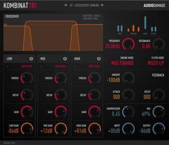 Audio Damage AD037 Kombinat Tri v3.0.3 WiN OSX