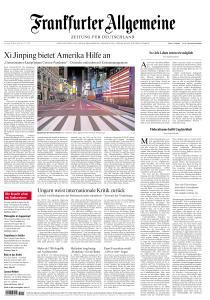 Frankfurter Allgemeine Zeitung - 28 März 2020