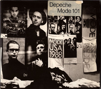 Depeche Mode - 101 (1989) Germany 1st Press + US 1st Press [Re-Up]