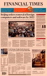Financial Times Europe – 09 December 2019