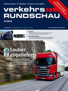 VerkehrsRundschau - 21. Mai 2019