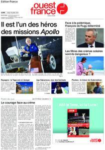 Ouest-France Édition France – 16 juillet 2019