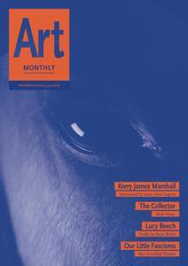 Art Monthly - November 2018   No 421