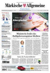 Märkische Allgemeine Prignitz Kurier - 14. April 2018