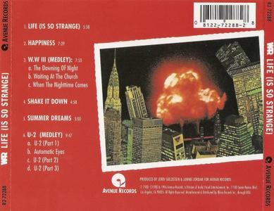War - Life (Is So Strange) (1983) [1996, Reissue]