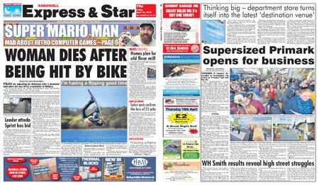 Express and Star Sandwell Edition – April 12, 2019