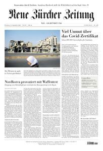 Neue Zürcher Zeitung - 14 September 2021