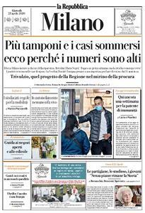 la Repubblica Milano - 23 Aprile 2020