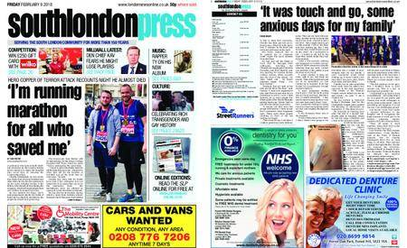 South London Press – February 09, 2018