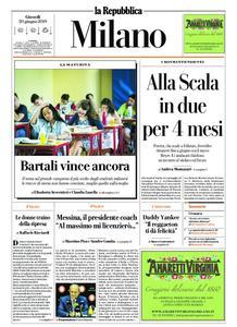 la Repubblica Milano – 20 giugno 2019