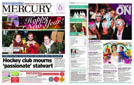 Hertfordshire Mercury – December 27, 2018