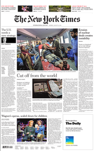 International New York Times - 12 August 2019