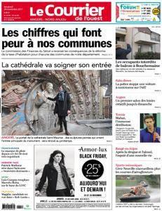 Le Courrier de l'Ouest Angers - 24 novembre 2017