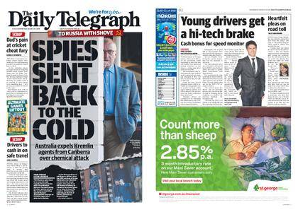 The Daily Telegraph (Sydney) – March 28, 2018