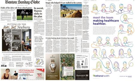 The Boston Globe – November 03, 2019