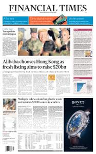 Financial Times Asia - May 29, 2019
