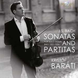 Kristof Barati - Johann Sebastian Bach: Sonatas & Partitas for solo violin, BWV 1001-1006 (2009) 2 CDs, Reissue 2013 [Re-Up]