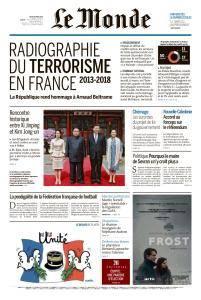 Le Monde du Jeudi 29 Mars 2018