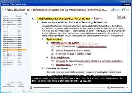 Becker CPA Exam Review 2014 - Business Environment and Concepts (BEC)
