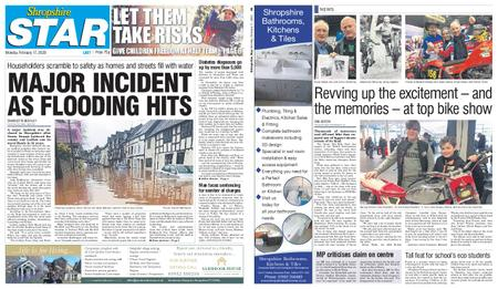 Shropshire Star Last Telford Edition – February 17, 2020