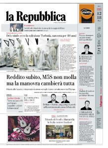 la Repubblica - 8 Dicembre 2018