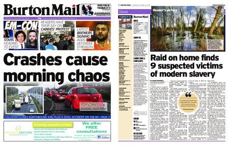Burton Mail – January 22, 2019