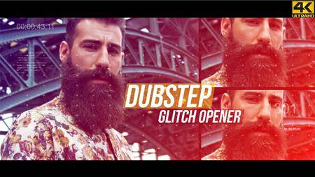 Dubstep Glitch Opener - 4K - Project for After Effects (VideoHive)