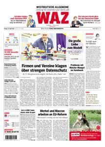 WAZ Westdeutsche Allgemeine Zeitung Oberhausen-Sterkrade - 20. April 2018