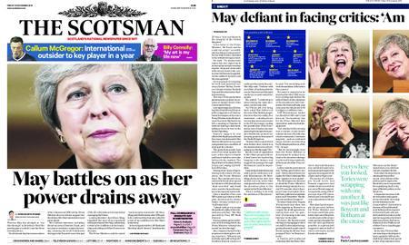 The Scotsman – November 16, 2018