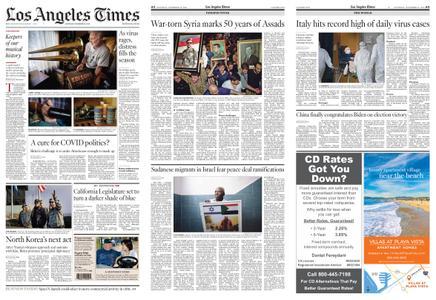 Los Angeles Times – November 14, 2020
