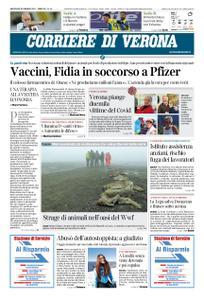 Corriere di Verona – 20 gennaio 2021