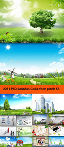 2011 PSD Sources Collection (Pack 58)