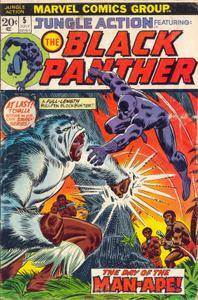Jungle Action v2 005 1973 featuring Black Panther
