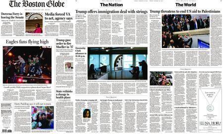 The Boston Globe – January 26, 2018