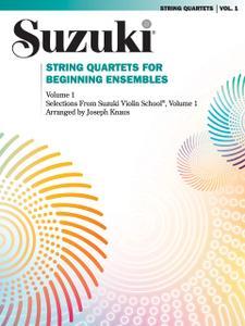 String Quartets for Beginning Ensembles, Vol. 1