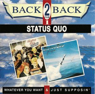 Status Quo - Whatever You Want & Just Supposin' (1979/80) [2 in 1, Vertigo 848 087-2] Re-up