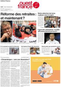 Ouest-France Édition France – 17 décembre 2019