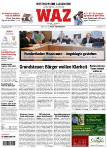 WAZ Westdeutsche Allgemeine Zeitung Duisburg-Mitte - 28. Juni 2019