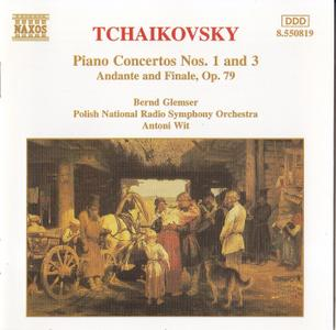 Bernd Glemser, Antoni Wit - Tchaikovsky: Piano Concertos Nos. 1-3, Andante and Finale, Op. 79 (1996)