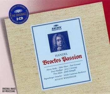 August Wenzinger, Schola Cantorum Basiliensis, Regensburger Domchor - Handel: Brockes-Passion (2001)
