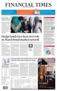 Financial Times Europe - November 18, 2020
