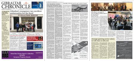 Gibraltar Chronicle – 28 November 2019