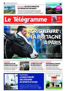 Le Télégramme Concarneau – 22 février 2020