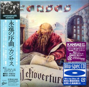 Kansas - Leftoverture (1976) [Epic EICP 20074, Japan]