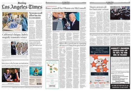 Los Angeles Times – January 24, 2021
