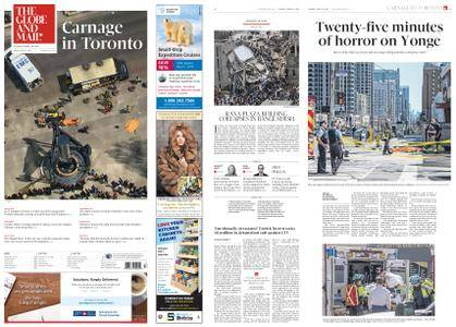 The Globe and Mail – April 24, 2018